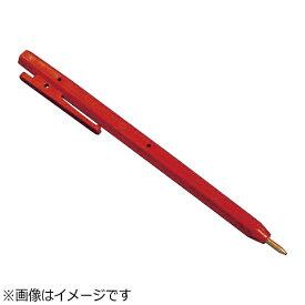 バーテック BURRTEC バーキンタ ボールペン エコ102 黒インク(金属検出機対応) 赤 <ZPN1602>[ZPN1602]
