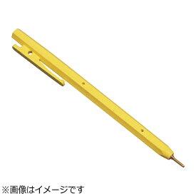 バーテック BURRTEC バーキンタ ボールペン エコ102 黒インク(金属検出機対応) 黄 <ZPN1604>[ZPN1604]