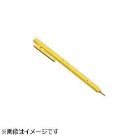 バーテック BURRTEC バーキンタ ボールペン エコ102 赤インク(金属検出機対応) 黄 <ZPN1504>[ZPN1504]