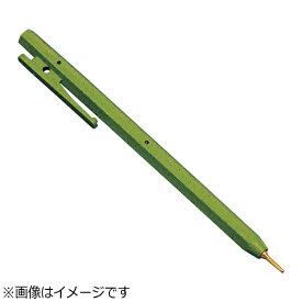 バーテック BURRTEC バーキンタ ボールペン エコ102 黒インク(金属検出機対応) 緑 <ZPN1605>[ZPN1605]