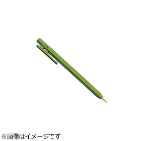バーテック BURRTEC バーキンタ ボールペン エコ102 赤インク(金属検出機対応) 緑 <ZPN1505>[ZPN1505]