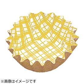 アヅミ産業 Azumi-sangyo 紙カップ ココケース 丸型(500枚入) 5号深型 黄 <XAZ3703>[XAZ3703]