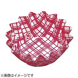 アヅミ産業 Azumi-sangyo 紙カップ ココケース 丸型(500枚入) 6号深型 赤 <XAZ3705>[XAZ3705]
