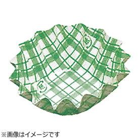 アヅミ産業 Azumi-sangyo 紙カップ ココケース 丸型(500枚入) 7号深型 緑 <XAZ3707>[XAZ3707]