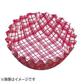 アヅミ産業 Azumi-sangyo 紙カップ ココケース 丸型(500枚入) 8号深型 赤 <XAZ3711>[XAZ3711]