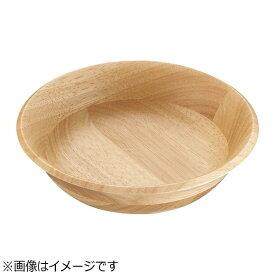ミヤザキ食器 MIYAZAKI ラバーウッド サラダボールハーフ ナチュラル <PSLO801>[PSLO801]