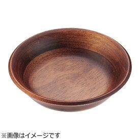 ミヤザキ食器 MIYAZAKI ラバーウッド サラダボールハーフ ブラウン <PSLO603>[PSLO603]