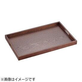 丸十 Marujyu 木製 長手盆 ブラウン 17.0 <EBV1101>[EBV1101]