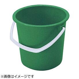 矢崎化工 YAZAKI ヤザキ カラーバケツ YP-10 グリーン <KBK6510>