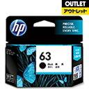 HP 【アウトレット品】【純正】 HP 63 インクカートリッジ (黒) F6U62AA【外装不良品】【消費期限 2017.06】F6U62…