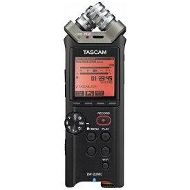 TASCAM DR-22WLVER2-J ICレコーダー [ハイレゾ対応][録音機 ボイスレコーダー 小型 高音質 DR22WLVER2J]
