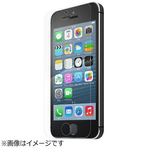 坂本ラヂヲ iPhone SE / 5c / 5s / 5用 GRAMAS Protection Glass 0.2mm クリア GL-ISENT