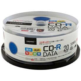磁気研究所 Magnetic Laboratories TYCR80YPW20SP データ用CD-R TYコードシリーズ ホワイト [20枚 /700MB /インクジェットプリンター対応]