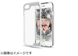 ビジョンネット iPhone 7用 Prism Clear Case メタリックシルバー SCPA70MS1
