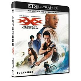 NBCユニバーサル NBC Universal Entertainment トリプルX:再起動 4K ULTRA HD+Blu-rayセット 【Ultra HD ブルーレイソフト】