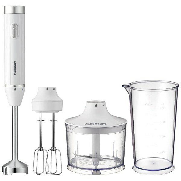 クイジナート Cuisinart HB-500WJ ハンドブレンダー Slim&Light(スリム&ライト) ホワイト[HB500WJ]