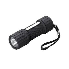 ヤザワ YAZAWA 【ビックカメラグループオリジナル】懐中電灯 ブラック BKR110BK [LED /単4乾電池×3]【point_rb】