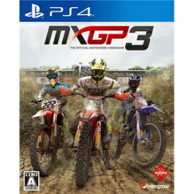 インターグロー MXGP3 - The Official Motocross Videogame【PS4ゲームソフト】