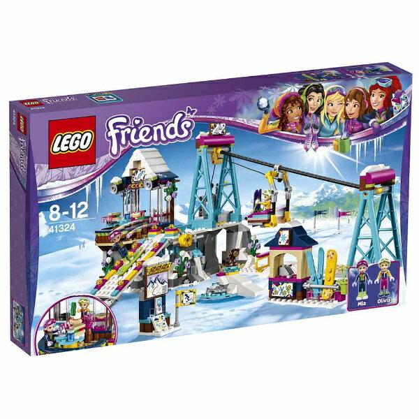【送料無料】 レゴジャパン LEGO(レゴ) 41324 フレンズ ハートレイク キラキラスキーリゾート