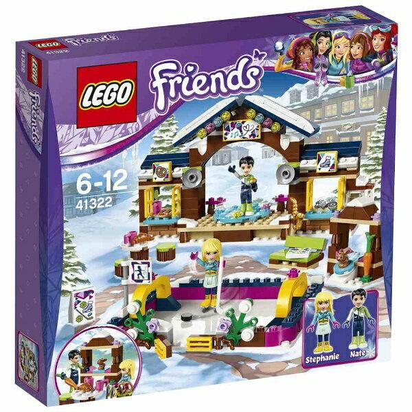 """レゴジャパン LEGO(レゴ) 41322 フレンズ スキーリゾート""""スケートリンク"""""""