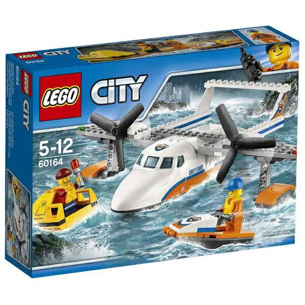 レゴジャパン LEGO(レゴ) 60164 シティ 海上レスキュー飛行機