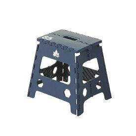ロゴス LOGOS 踏み台兼折りたたみ式チェア パタントチェア M(ネイビ) 73189301