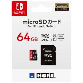 HORI ホリ マイクロSDカード 64GB for Switch NSW-046[Switch]