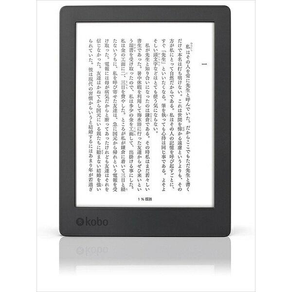 【送料無料】 KOBO N867-KJ-BK-S-EP 電子書籍リーダー kobo aura H2O Edition 2 ブラック[N867KJBKSEP]