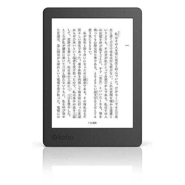 【送料無料】 KOBO 電子書籍リーダー Kobo Aura Edition 2 N236-KJ-BK-S-EP[N236KJBKSEP]