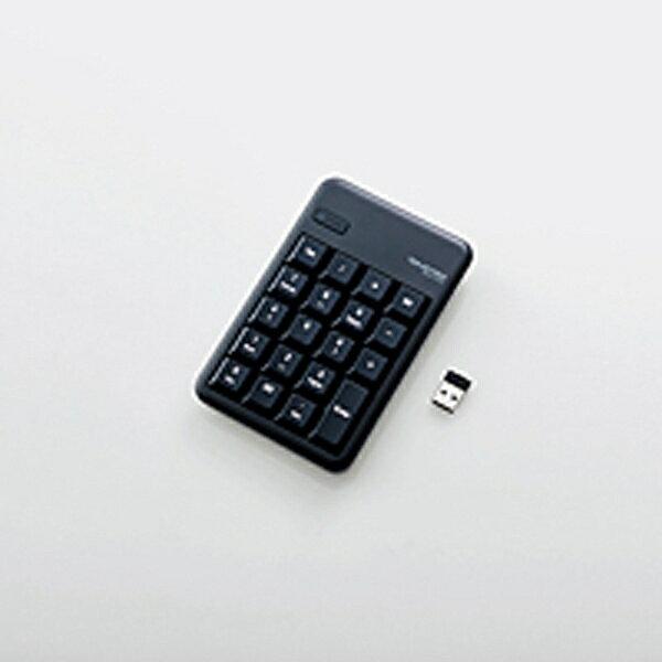 エレコム ワイヤレステンキーパッド[2.4GHz USB・Win]ブラック TK-TDM017BK