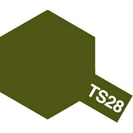 タミヤ TAMIYA タミヤカラースプレー TS-28 オリーブドラブ 2 つや消しタイプ
