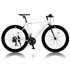 オオトモ OTOMO 700×25C型 クロスバイク CANOVER CAC-024 HEEB (ホワイト/490サイズ《適応身長:160cm以上》) 25587【組立商品につき返品不可】 【代金引換配送不可】