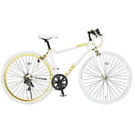 オオトモ OTOMO 700×28C型 クロスバイク LIG MOVE (ホワイト/440サイズ《適応身長:155cm以上》) 19247【組立商品につき返品不可】 【代金引換配送不可】