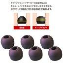 ラディウス イヤーピース deep mount earpiece 単品(M) HP-DME02K