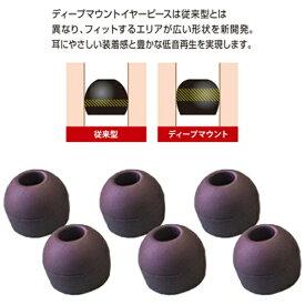 ラディウス radius イヤーピース deep mount earpiece 単品(M) HP-DME02K