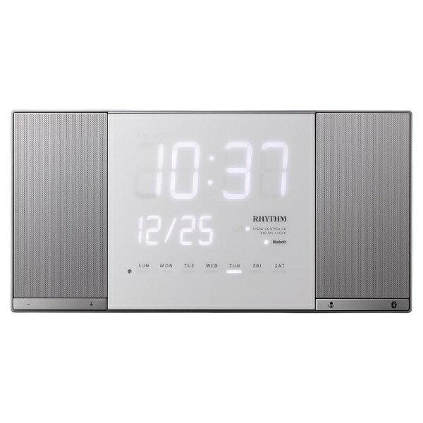 リズム時計 RHYTHM 電波掛け置き兼用Bluetoothオーディオクロック 「TOKIOTO2(トキオト2)」 8RZ183RH19[8RZ183RH19]