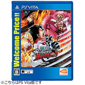 バンダイナムコエンターテインメント BANDAI NAMCO Entertainment ONE PIECE BURNING BLOOD Welcome Price!!【PS Vitaゲームソフト】