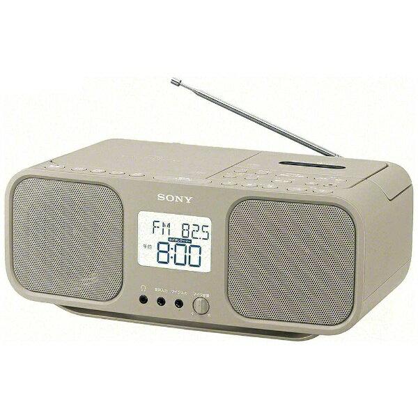 ソニー SONY CFD-S401 ラジカセ ベージュ [ワイドFM対応 /CDラジカセ][CFDS401TIC]