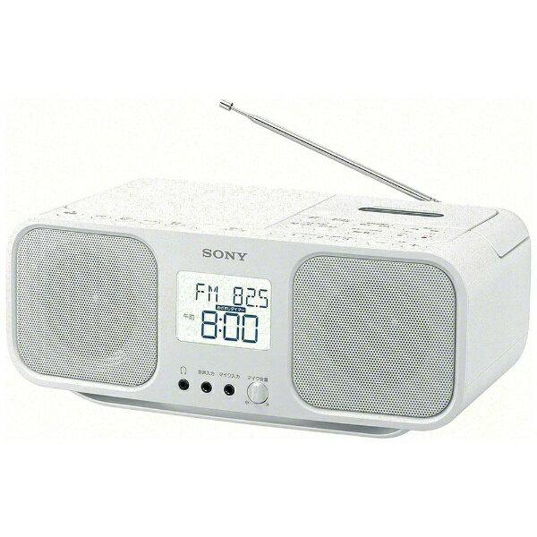 ソニー SONY CFD-S401 ラジカセ ホワイト [ワイドFM対応 /CDラジカセ][CFDS401WC]