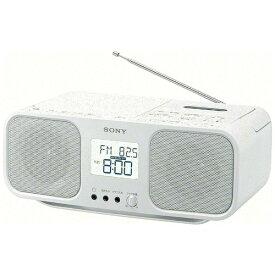ソニー SONY CFD-S401 ラジカセ ホワイト [ワイドFM対応 /CDラジカセ][ラジカセ cd プレーヤー CFDS401WC]