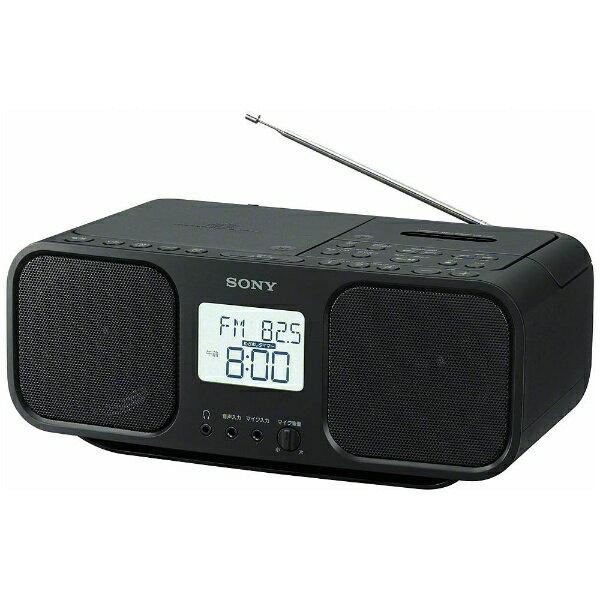 ソニー SONY CFD-S401 ラジカセ ブラック [ワイドFM対応 /CDラジカセ][CFDS401BC]