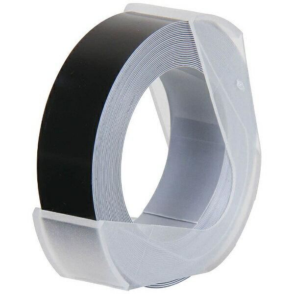 DYMO R&M「マシューズ・グロッシーテープ(つやあり/ブラック/12mm幅)」 RM912-B