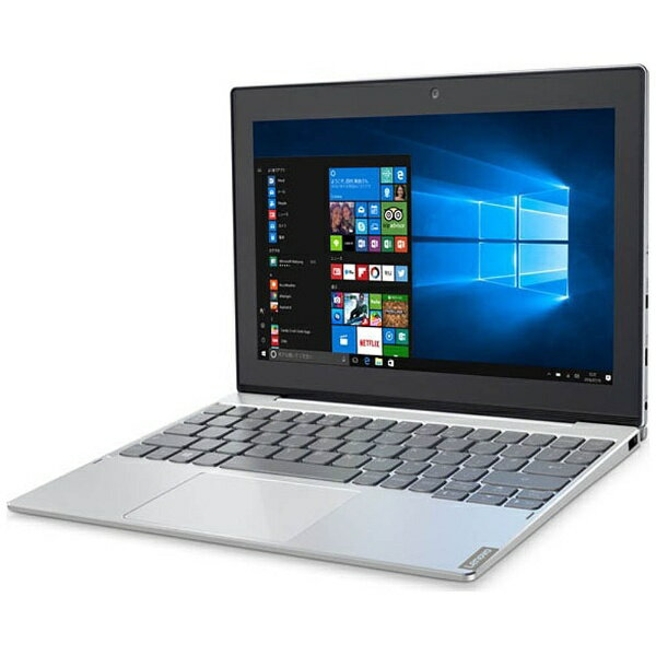 【送料無料】 レノボジャパン 10.1型タッチ対応ノートPC[Win10 Home・Atom・eMMC 64GB・メモリ 4GB] Lenovo ideapad MIIX 320 プラチナシルバー 80XF0007JP (2017年5月モデル)