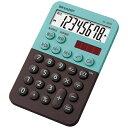 シャープ SHARP ミニミニナイスサイズ電卓 グリーン系 EL-760R-GX [8桁][EL760R]