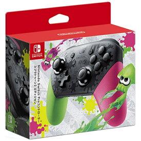 任天堂 Nintendo 【純正】Nintendo Switch Proコントローラー スプラトゥーン2エディション HAC-A-FSSKB[Switch][ニンテンドースイッチ プロ コントローラー]