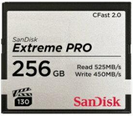 サンディスク SanDisk CFastカード ExtremePRO(エクストリームプロ) SDCFSP-256G-J46D [256GB][SDCFSP256GJ46D]