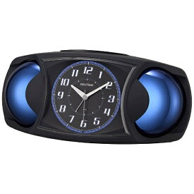 リズム時計 RHYTHM 目覚まし時計 バトルMAX X 黒(黒) 4RA482SR02 [アナログ]