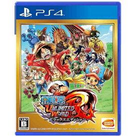 バンダイナムコエンターテインメント BANDAI NAMCO Entertainment ONE PIECE アンリミテッドワールド R デラックスエディション【PS4ゲームソフト】