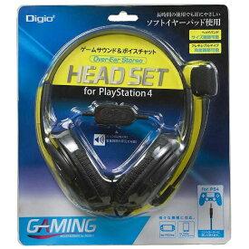 ナカバヤシ Nakabayashi PS4対応 ゲーム用オーバーイヤーヘッドセット (ステレオタイプ) MHM-SGM23BK[PS4]