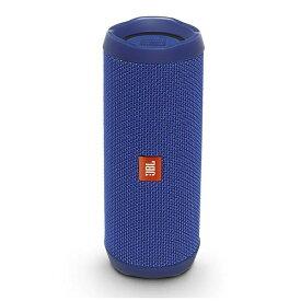 JBL JBLFLIP4BLU ブルートゥース スピーカー ブルー [Bluetooth対応 /防水][スピーカー 高音質 JBL FLIP4 ブルー フリップ4]